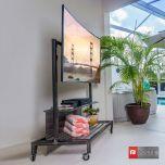 "Mobile Flat Panel TV Cart for 37"" - 50"" Flat Panel Screens"