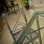 Bolts Steel Double X Chair