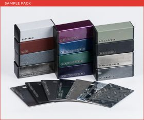 Boltz Steel Finishes Sample Pack