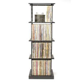 LP Album Storage Rack (4 Shelves)