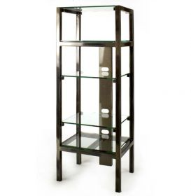 Audio Video Component Tower Stand
