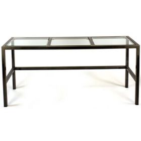 Steel & Glass TV / LCD / Plasma Table (Phoenix-P3)