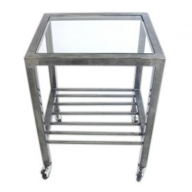 End Table With Casters