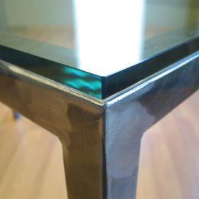 Steel Desk - Platinum Finish