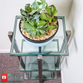 Top - Boltz Steel Furniture Accent Table