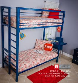 Steel Double Bunk Beds by Boltz Furniture