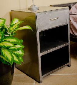 Low Profile Steel Cabinet