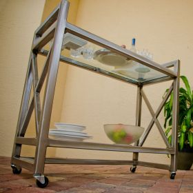 Boltz Steel Serving Cart