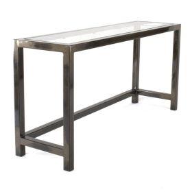 Steel & Glass Laptop Desk