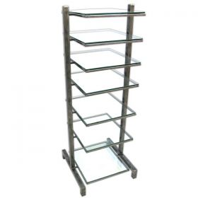 Loft Audio Video Component Tall Tower Stand