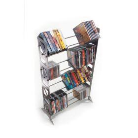 CD, DVD, VHS Multimedia Floor Rack & Shelving (MM-160)
