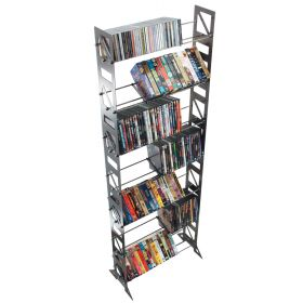 CD, DVD, VHS Multimedia Floor Rack & Shelving (MM-252)