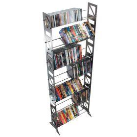 CD, DVD, VHS Multimedia Floor Rack & Shelving (MM-252)