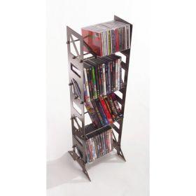 CD, DVD, VHS Multimedia Floor Rack & Shelving (MM-72)