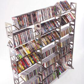 CD, DVD, VHS Multimedia Floor Rack & Shelving (MM-756)