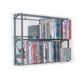 CD, DVD, VHS Multimedia Wall Rack & Shelving (MM-76)
