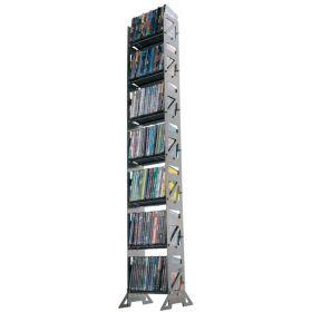 CD, DVD, VHS Multimedia Floor Rack & Shelving (MM-126)