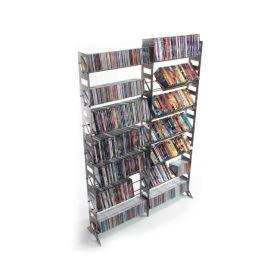 CD, DVD, VHS Multimedia Rack & Shelving Expansion Kit (MMEXP-T)