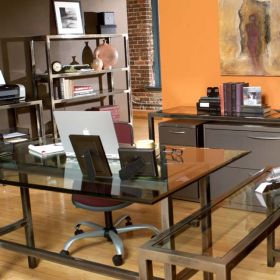 Loft 7 Piece Office Set