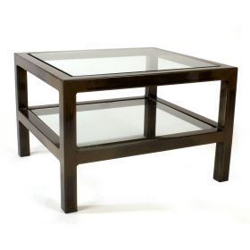 Steel & Glass Audio Video Table (P2)