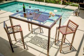 Boltz Mosaic Bistro Table