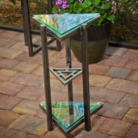 Tri-Triangle Accent Table