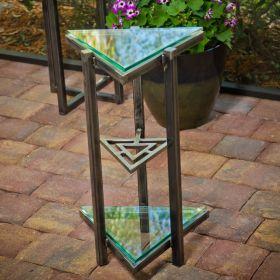 Tri-Triangle Accent Table