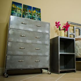 Boltz D13 4 Drawer Steel Dresser Unit