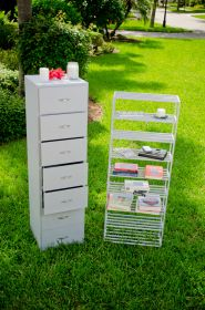 Boltz Heavy Duty 7 Drawer Steel Cabinet and Steel 7 Shelf Stand