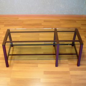 Steel & Glass TV / LCD / Plasma Stand (Seattle)