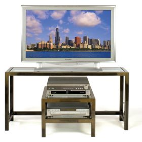 TV / LCD / Plasma Stand & Audio Video Caddy Combo