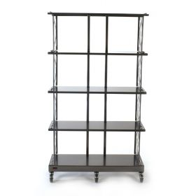 LP Record Storage Rack (4 Shelves)