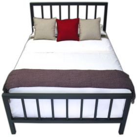 Spindle Steel Bed Frame