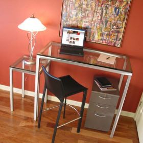 Stainless Steel Laptop Desk