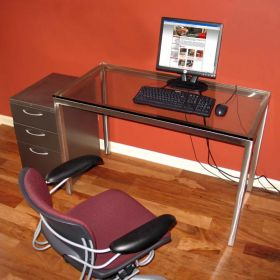 Stainless Steel 2 Piece Office Set