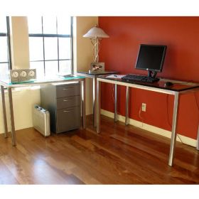 Stainless Steel 3 Piece Office Set