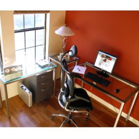 Stainless Steel 4 Piece Office Set