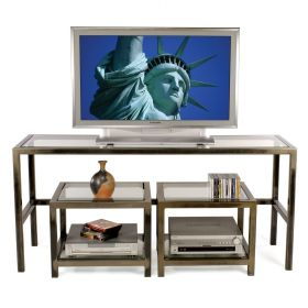 3 Piece TV / LCD / Plasma Stand and Audio Video Tables