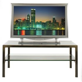 Steel & Glass TV / LCD / Plasma Stand (Denver-P12)